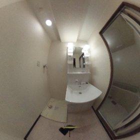 COZYオオタ205洗面室 #theta360
