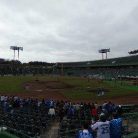 ほっともっとフィールド神戸3塁側