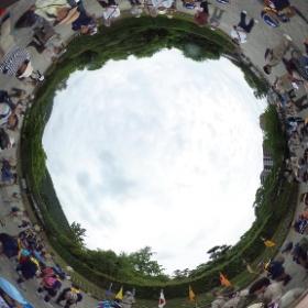 名勝・栗林公園で香川東地区の地区ラリー。
