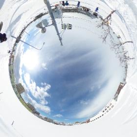 360°カメラで撮りました! #theta360