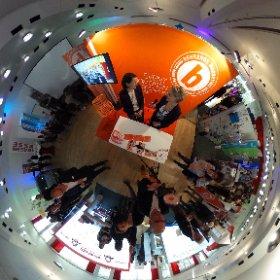 Erste Impressionen eines spannenden Interviews mit der Agentur Behrends Marketing auf der Reviermanagermesse im Ruhrturm.  #theta360 #theta360de