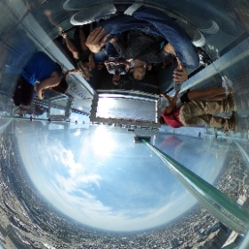 Willis Tower Skydeck #theta360