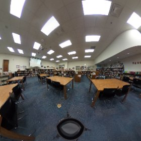 North Grove - Media Center #theta360