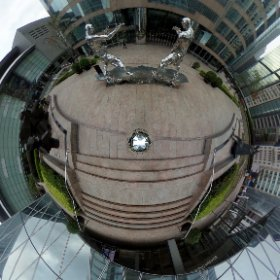 more precise mirror ball nadir #theta360