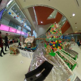 VR view of an ATB Gingerbread House. #theta360