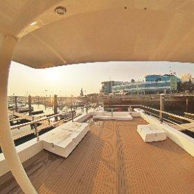 Diamond House Boat 1460 Upper deck-2 #theta360