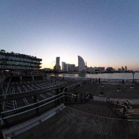 20211014 横浜ハンマーヘッド #theta360