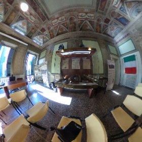 #CasaResistenza #Valpolcevera #Genova #WW2 Salone centrale #theta360it