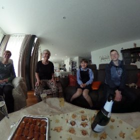 Repas de Noël avec nos Amis