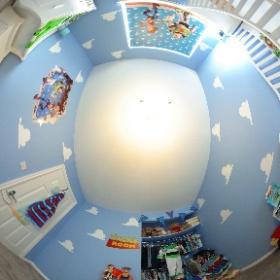 Zacks toy Story room  #theta360 #theta360uk