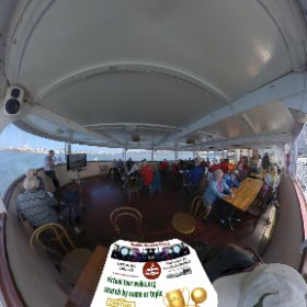 360 spherical photo Historical tour on the Paddle Steamer Decoy boat from Mends Street jetty South Perth https://linkfox.io/AvM1Z BEST HASHTAGS #HistoricalTourSwanRiver  #PaddleSteamerDecoy  #SouthPerth  #VisitPerthWA   #butterfly3d #theta360