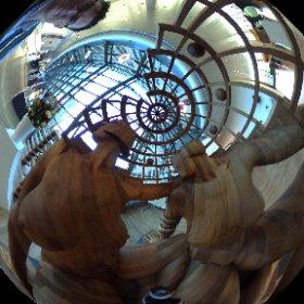 Domus Medica Wooden Selfie @GFHEU  #theta360