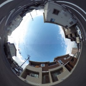 松山市の賃貸アパート、サンリットはなみずきRの敷地南側