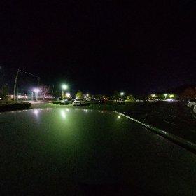 昨夜もジョギング終わりにTHETA Z1で撮影。 夜でもまぁまぁ綺麗に撮れるなぁ(*´ω`*) #theta360