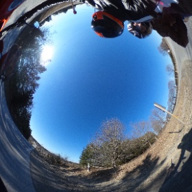 Cold winter ride #Triumph #BellHelmets #RoofHelmets  #theta360