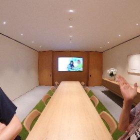 アップル福岡地下にある法人向け専用スペース「Boardroom」 #theta360