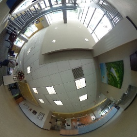Riverview front desk #theta360