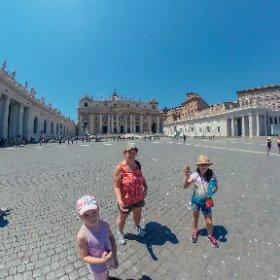 At the Vatican. #Rome #theta360 #theta360fr