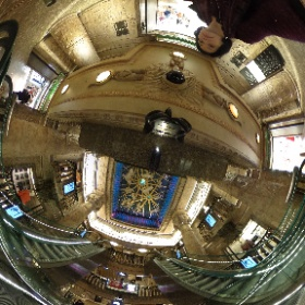 The Egyptian escalator at Harrods London  #Egyption #Harrods #LoveLondon #London #theta360
