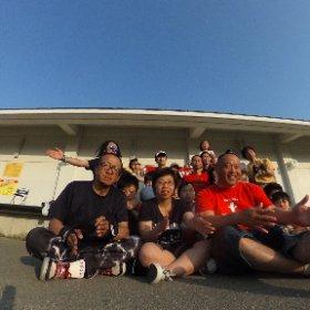 甲子園浜360度点描🎵 #theta360