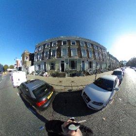 23 Fitzroy Road, London.  #SylviaPlath #theta360