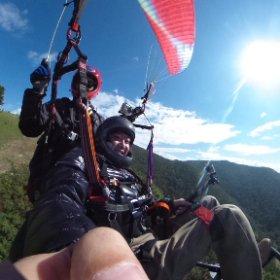 #南陽スカイパーク #車いすでパラグライダーに挑戦 #車いすで僕は空を飛ぶ #theta360