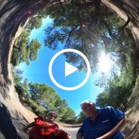 essai selfi en vidéo 360 sphérique au cap d'agde france sur le Mont Saint loup. j'ai mmis le theta au bout d'une perche ... c'est amusant je trouve Philippe Le Bras  english :  Selfi trial in 360 spherical video in Cap d'Agde France   #theta360 #theta360fr