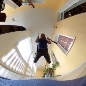 Аэро гравити в Ялте, в Президент отеле «Таврида» #theta360