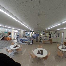 東松島市震災復興伝承館 旧野蒜駅 #theta360