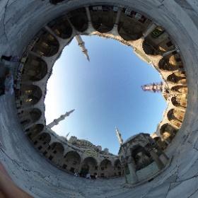 Blue Mosque view #Istanbul360 #LifesAjourney #theta360