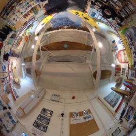 Another 360 degree image, this time from the Museum of British Surfing taken before the lockdown.