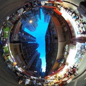 香港、北角の市場。(2017/08/26) #theta360