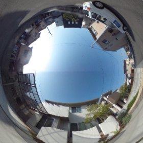 松山市の賃貸一戸建て、古川北一戸建の南側