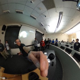 Free workshops on @Unity3D #VR #AR in Room 008 @HackPrinceton with #Moverio #theta360