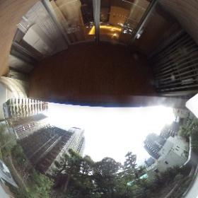 【ブランズザ・ハウス一番町】 ②南向き眺望 360°画像 東京都千代田区一番町22-1 http://www.axel-home.com/008434.html    #theta360