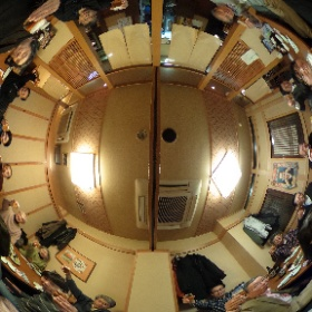 今日は理科大天文研アメリカ🇺🇸日食報告会がありました。 これから懇親会です(^○^) #theta360