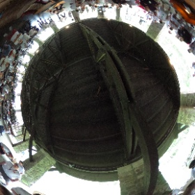 Robot #17 completing the course at the 2016 Engineering Offsite in Greene. #theta360