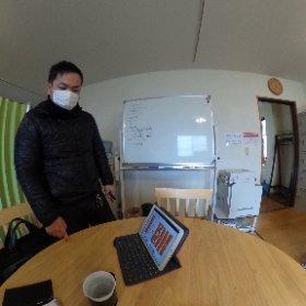 佐々木大先生。 #theta360