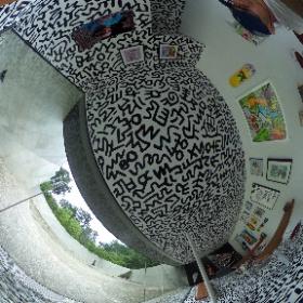 キース・へリング美術館 #キースへリング #keithharing  http://www.nakamura-haring.com #theta360