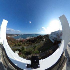 さすが東洋のエーゲ海、牛窓!! 素晴らしい景色です(*^^*) #theta360