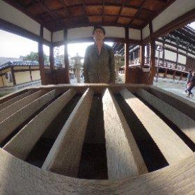 本能寺 信長公廟 に御参り 京都に撮影に来たが宿泊先の近くに本能寺が #theta360