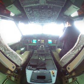 #c-2輸送機 コックピット! #美保基地 #米子空港 #c-2 #kawasaki #theta360