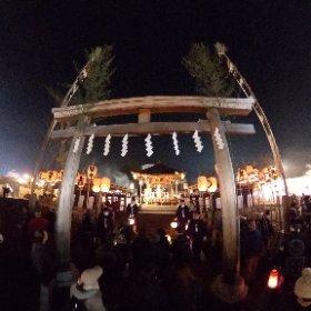 2018秩父夜祭御旅所❸(埼玉県秩父市) #theta360