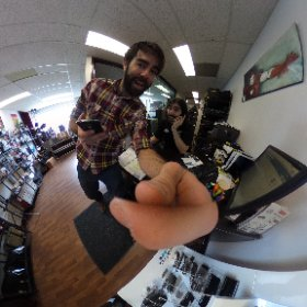 Testing the Theta S 360 camera at work. #theta360