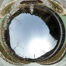 樹木葬 さくらの杜 安佐メモリアルガーデン ソレイユ #theta360