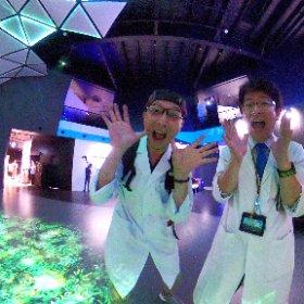 さぁ、取り乱せ!VR ZONE SHINJUKU 研究成果発表会 #theta360