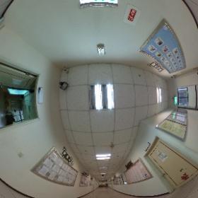 中華科技大學企業管理系 9樓走廊轉角 #theta360