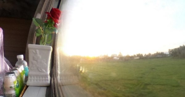 9ddac461927ee ベトナム縦断列車で朝日を拝む〜 - Spherical Image - RICOH THETA