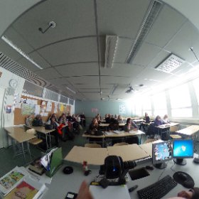 International headmaster and teacher Erasmus+ delegation from Wales visiting Klassikka. Thanks to NEST and see ya in Cardiff, Wales in June. #klassikka #nest #networking @cardiffcouncil #erasmus+ #theta360