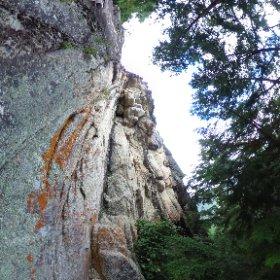 小川山 たぬき岩 とろろ #theta360